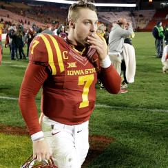 Joel Lanning: Iowa State quarterback turned linebacker on position switch, Matt Campbell