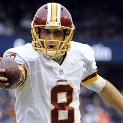 Washington quarterback Kirk Cousins.