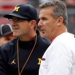 Jim Harbaugh vs. Urban Meyer, Oklahoma State, AAC's Power 5 odds and more mailbag questions