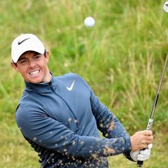 Rory McIlroy made birdies on three of his first six holes Friday.