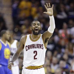 Twitter reacts to Kyrie Irving's reported trade request.