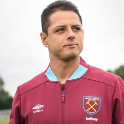 Chicharito has left Bayer Leverkusen for a return to the Premier League with West Ham
