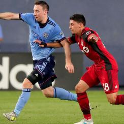 Toronto FC is fending off NYCFC atop the Eastern Conference in MLS