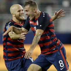Jordan Morris scores the winner for the USA vs. Jamaica in the Gold Cup final