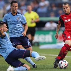 Sebastian Giovinco starred for Toronto FC against NYCFC