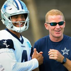 Dak Prescott and Jason Garrett are ready to return to action after a disappointing end to an otherwise electric 2016 season.