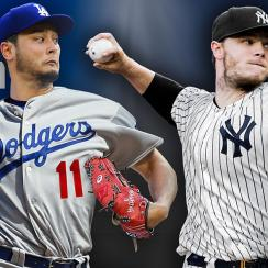 Yu Darvish, Los Angeles Dodgers; Sonny Gray, New York Yankees
