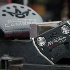 The new Scotty Cameron Futura 5.5M putter.