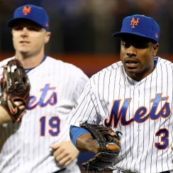 Jay Bruce and Curtis Granderson, New York Mets