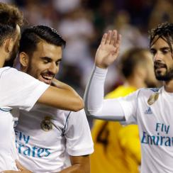 Real Madrid beat the MLS All-Stars in penalty kicks