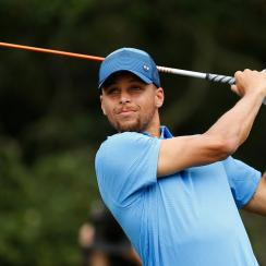 Stephen Curry may have missed the Ellie May Classic cut, but he impressed some of the Tour's best players with Web.com tour debut.