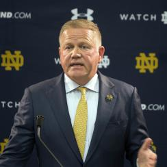 Notre Dame released restrictive media guidelines, and it's causing a stir in the media community.