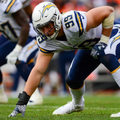 Los Angeles Chargers pass rusher Joey Bosa.