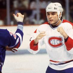 John Kordic, Montreal Canadiens