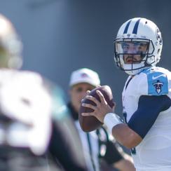 Tennessee Titans quarterback Marcus Mariota.