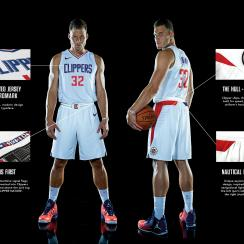 Clippers' Association jersey