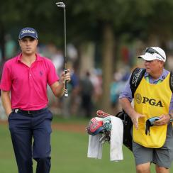 Justin Thomas during the final round of the 2017 PGA Championship.