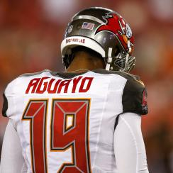 Roberto Aguayo, after Friday's game: 'Sometimes you are going to do good, sometimes you are going to do bad, but at the end of the day, you can't let it defeat you.'