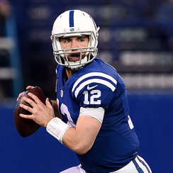 Indianapolis Colts quarterback Andrew Luck.