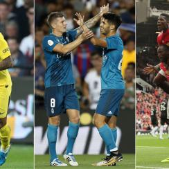 Neymar, Real Madrid and Manchester United all enjoyed stellar weekend showings
