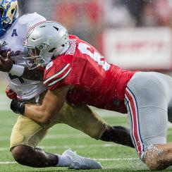College football tackling technique: Targeting rules prompt Alabama, Ohio State, Washington to focus on practice hits