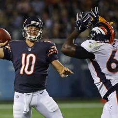 Mitch Trubisky played well in his Bears debut, but the rookie quarterback still has a lot to learn and show before earning the starting quarterback job.