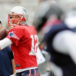 Tom Brady and the Patriots practiced with the Texans on Tuesday. The two teams meet in Week 2 of the preseason and Week 3 of the regular season.