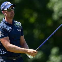Henrik Stenson broke the 72-hole course record at the Wyndham Championship.