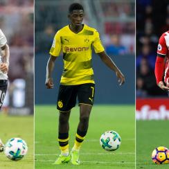 Philippe Coutinho, Ousmane Dembele and Virgil van Dijk have all been involved in summer transfer sagas
