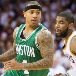 Isaiah Thomas and Kyrie Irving