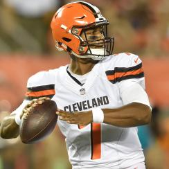 Rookie DeShone Kizer has the inside track on winning the Browns starting quarterback job for Week 1 of the regular season.