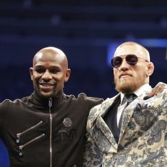 McGregor calls Mayweather 'true champion'