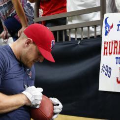 J.J. Watt's Hurricane Harvey relief fund has suprassed $3.25 million.