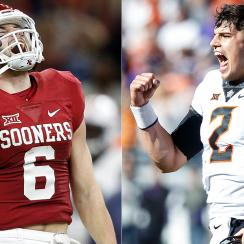 Baker Mayfield vs. Mason Rudolph: Big 12's best QBs dominate Oklahoma vs. Oklahoma State rivalry