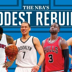 NBA's rebuilding teams