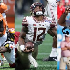 College football Week 1: Deondre Francois injury, Texas and Texas A&M in trouble, College Football Playoff picture