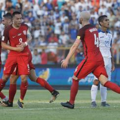 Bobby Wood scores a huge goal for the USA vs. Honduras in World Cup qualifying