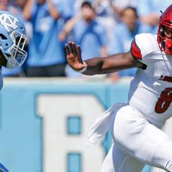 Lamar Jackson lights up UNC in Week 2