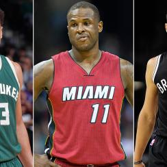 Malcolm Brogdon, Dion Waiters and Jeremy Lin