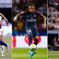 Lionel Messi, Neymar and Cristiano Ronaldo will vie for the Champions League title this season