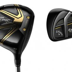 The new Callaway Epic Star driver and iron.