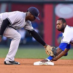 Didi Gregorius, New York Yankees; Lorenzo Cain, Kansas City Royals