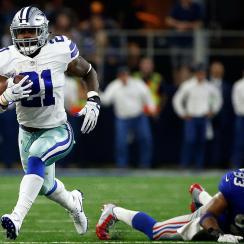 Cowboys RB Ezekiel Elliott vs. Giants