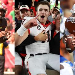 Jake Fromm, James Blackman, Sam Ehlinger, Kasim Hill top college football freshman QBs in action