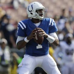 Jacoby Brissett: Colts quarterback starts over Scott Tolzien