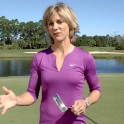 Learn how to stop pushing short putts now.