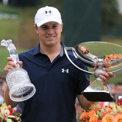 Jordan Spieth won the Tour Championship and the FedEx Cup in 2015.