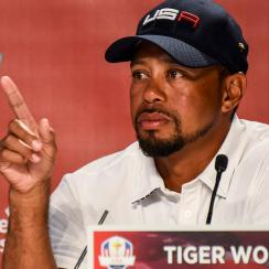 Tiger Woods made his Ryder Cup debut as an assistant captain last year, and he'll do the same at the Presidents Cup this month.