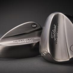 The new Titleist Vokey AD-sixty wedge.