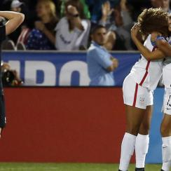 The USWNT beat New Zealand 5-0 behind two goals from Alex Morgan.